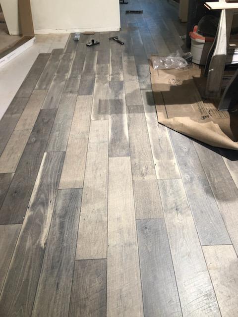 hardwood plank floors