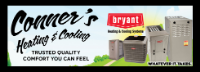 CONNERS HEATING & COOLING LLC