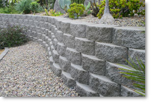 Building Concrete Manor Stone Retaining Walls